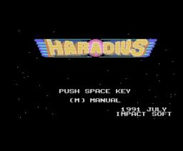 Haradius (1991, MSX2, Impact Soft)