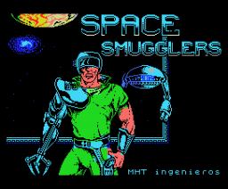 Space Smugglers (Gunstick version) (1989, MSX, MHT Ingenieros)