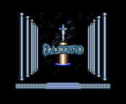 Bastard (1988, MSX2, Sein Soft / XAIN Soft / Zainsoft)