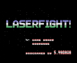 Laserfight! (1989, MSX, Login Software)