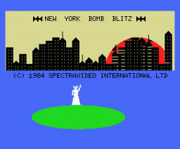 New York Bomb Blitz (1984, MSX, Spectravideo (SVI))