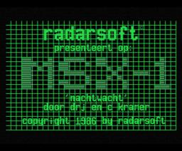 Nachtwacht (1986, MSX, Radarsoft)
