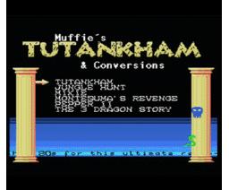 Muffie's Tutankham & Conversion (2014, MSX, Repro Factory)