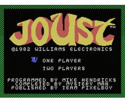 Joust (2017, MSX, Williams Electronics)