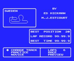 Speed King (1986, MSX, Mastertronic)