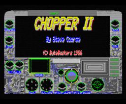 Chopper II (1986, MSX2, The Bytebusters)