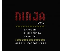 Ninja Love (2013, MSX, Oniric Factor)