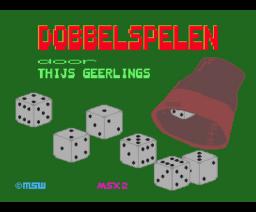 Dobbelspelen de luxe (1990, MSX2, Thijs Geerlings)