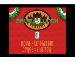 Saurus Lunch 3 (1991, MSX2, MSX2+, Co-Deuz Computer)