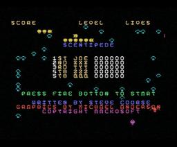 Scentipede (1986, MSX, Aackosoft)
