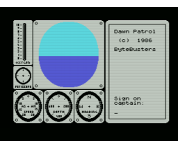 Dawn Patrol (1986, MSX, The Bytebusters)