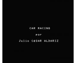 Car Racing (MSX, Editorial Cometa, Julio César Aldariz)
