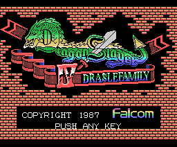 Dragon Slayer IV - Drasle Family (1988, MSX, Falcom)