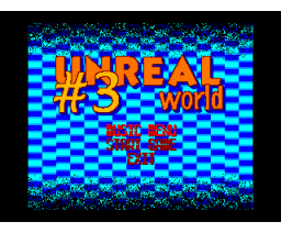 Unreal World 3 (2000, MSX2, Ramones)