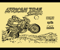 African Trail Simulator (1990, MSX, Positive)