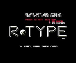 R-Type (1988, MSX, MSX2, IREM)