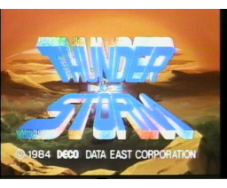 Thunder Storm (1985, MSX, Data East)