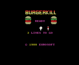 Burgerkill (1988, MSX, Eurosoft)