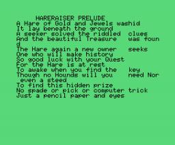 Hareraiser (1984, MSX, Haresoft)