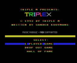 Triplex (1993, MSX2, Triple M)