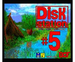 BCF Disk Station #5 (1991, MSX2, MSX2+, Turbo-R, BCF)