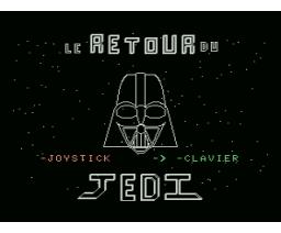 La Retour du Jedi (MSX, Parisy)