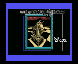 Colossus 4 Chess (1986, MSX, CDS Software)