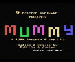 Oh Mummy (1984, MSX, Longman)
