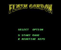 Flash Gordon (1987, MSX, Mastertronic)