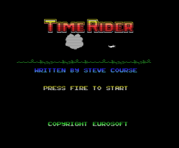 Time Rider (1988, MSX, Eurosoft)