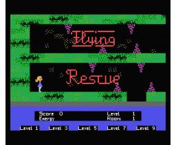 Flying Rescue (1985, MSX, Volker Becker)