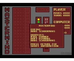Master Mind (1993, MSX2, Compjoetania)