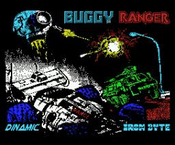 Buggy Ranger (1990, MSX, Dinamic)