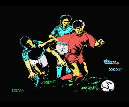 Emilio Butragueño Fútbol (1988, MSX, Topo Soft, Ocean)