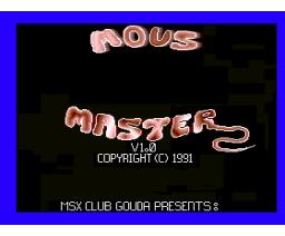 Mouse Master (1991, MSX2+, MSX Club Gouda)