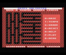 Mazes Unlimited (1986, MSX, Aackosoft)