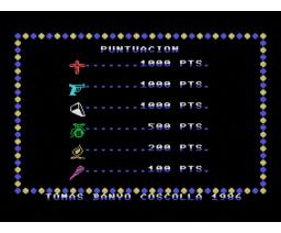 Shup (1986, MSX, Mind Games España)