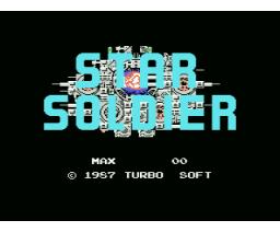 Star Soldier (1987, MSX, Turbo Soft)