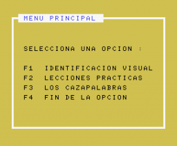Idea Type (1985, MSX, Idealogic)