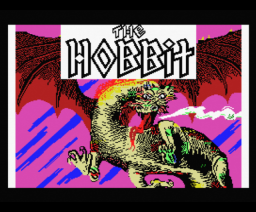 The Hobbit (1985, MSX, Melbourne House)