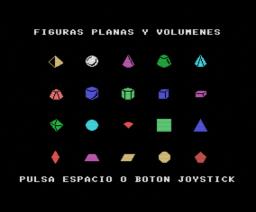 Figuras Planas y Volumenes (MSX, Mind Games España)