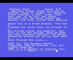 Zork III: The Dungeon Master (1982, MSX, Infocom)