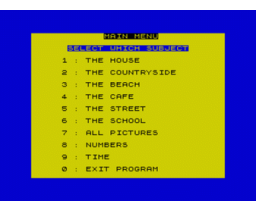 German is fun (1984, MSX, CDS Software)