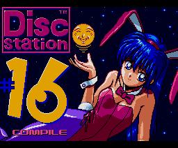 Disc Station 16 (90/9) (1990, MSX2, MSX2+, Compile)
