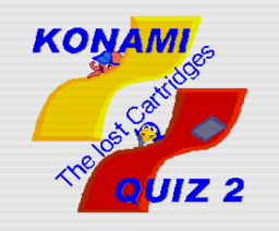 Konami Quiz 2 - The Lost Cartridges (2006, MSX2, Delta Soft)
