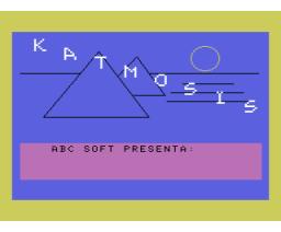 Katmosis (1986, MSX, J. Mateos)