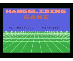 Hanggliding Game (MSX, Unknown)