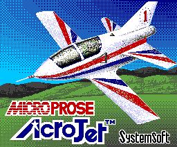 Acrojet (1988, MSX2, Microprose)
