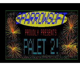 MSX-2 Palet (1987, MSX2, Sparrowsoft)