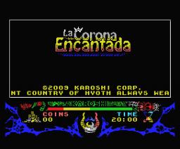 La Corona Encantada (2008, MSX, Karoshi)